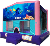 Finding Dory Bouncer - Sparkly Pink Edition