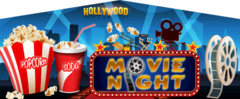 Movie Night Banner