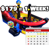 Lil' Pirates Fun Ship - Weekly Rental
