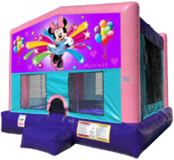 Minnie Mouse Bouncer - Sparkly Pink Edition