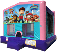 Paw Patrol Bouncer - Sparkly Pink Edition