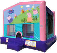 Peppa Pig Bouncer - Sparkly PInk Edition