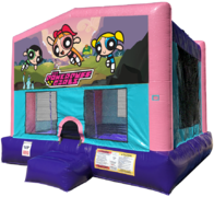 Power Puff Girls Bouncer - Sparkly Pink Edition