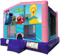 Sesame Street Elmo Bouncer - Sparkly Pink Edition