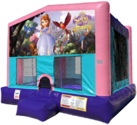 Sofia the First Bouncer - Sparkly Pink Edition
