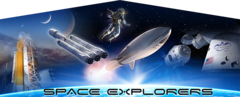 Space Explorers Banner