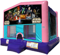 Star Wars Bouncer - Sparkly Pink Edition