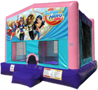Super Hero Girls Bouncer - Sparkly Pink Edition