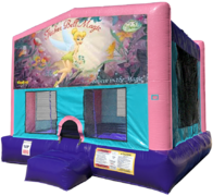 Tinkerbell Bouncer - Sparkly Pink Edition