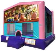 Toy Story Bouncer - Sparkly Pink Edition