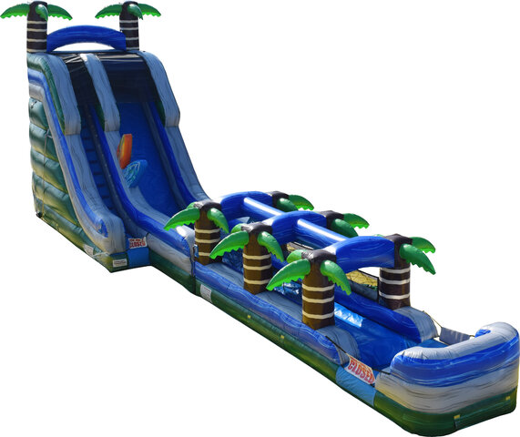 22ft Xtreme Tropical Water Slide