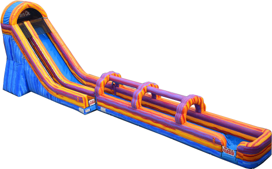 24' Xtream Water Slide w/slip n slide