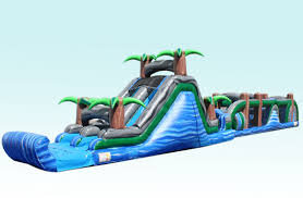 73' Tropical Obstacle Course