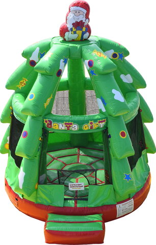 Christmas Tree Bounce House