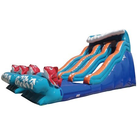 16' Double Lane Big Kahuna Water Slide
