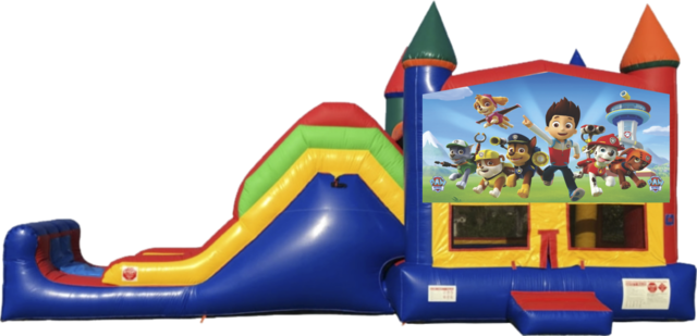 Paw Patrol Bounce House Combo