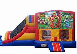 Winnie The Pooh Bounce House Combo
