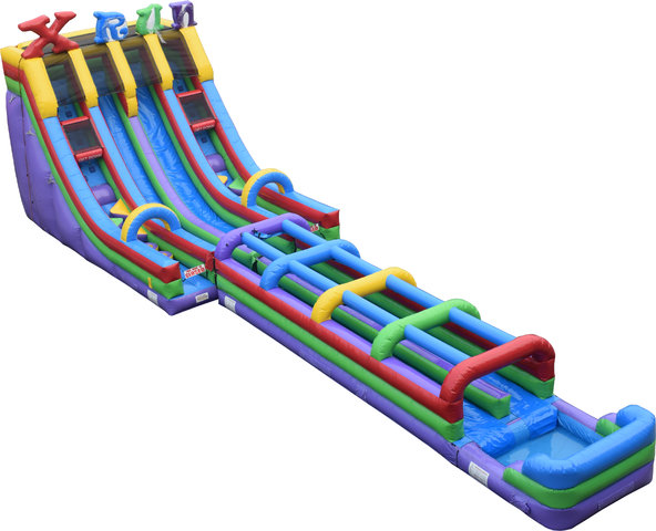 XRun 24' Slide with Slip N Slide