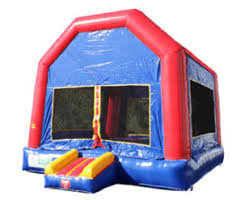 Red & Blue Bounce House