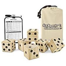 Giant Yard Yahtzee