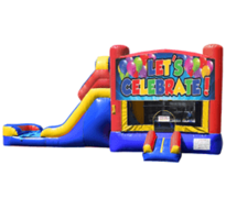Let's Celebrate Bounce House Combo