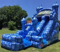 16ft King Castle Water Slide