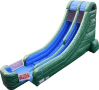 18' Green Marble Water Slide