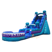 19ft Electric Shock Water Slide