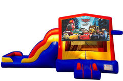 Cars Bounce House Combo