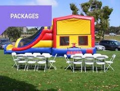 #1 Combo Bounce House Package