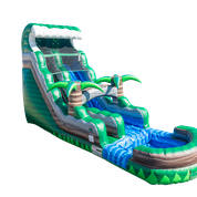 20ft Emerald Crush Water Slide
