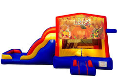 Fall Theme Bounce House Combo