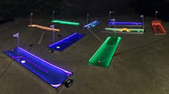 LED 9 Hole Mini Golf