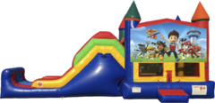 Paw Patrol Bouncy Jumper & Slide