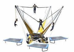 4 Person Bungee Trampoline