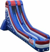 18 ft American With Slip Slide