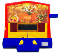 Fall Theme Bounce House