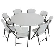 1 Round Table & 8 Chairs