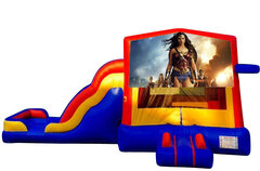 Wonder Woman Bounce House Combo