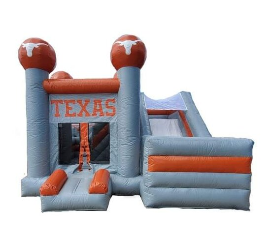 Texas Longhorn Combo Bounce House