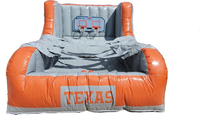 Texas Longhorn 2 Player Basketball