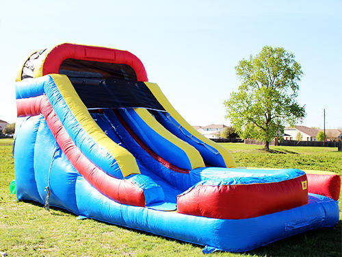 16' Fast and Furious Inflatable Water Slide