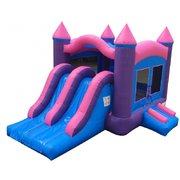 The Princess Combo Bounce House (dry)