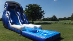 20' Paradise Inflatable Water Slide W/ Pool