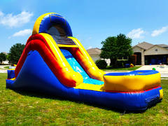 13' Arched Inflatable Water Slide w/ Pool