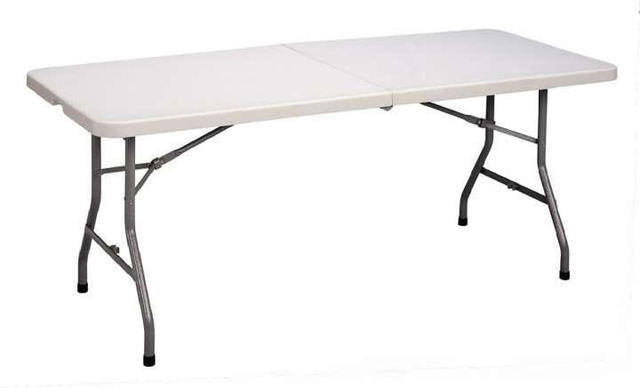 Plastic Folding Table Rentals