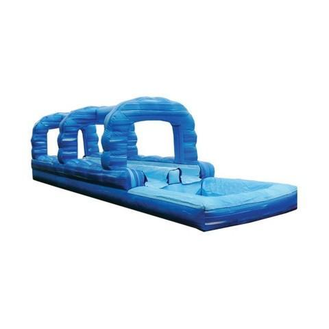 Blue Double Lane Slip N Slide