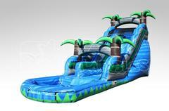 18 Ft. Tropical Water Slide (Blue 18)