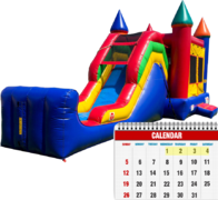 3 Day Bounce-Slide Combo Rentals