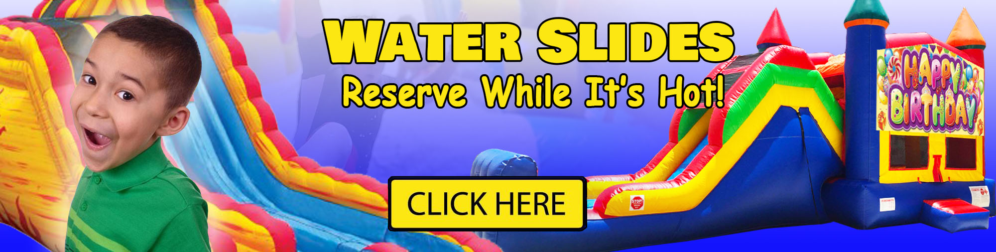 Michigan Water Slide Rentals